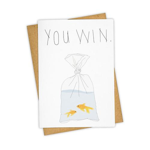 You Win Card