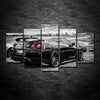 Nissan GTR Exotic Sport Car 5 Panel Canvas Wall Art Print