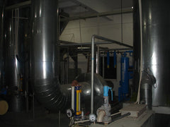 Vacuum blowers at the Eurow microfiber yarn production facility