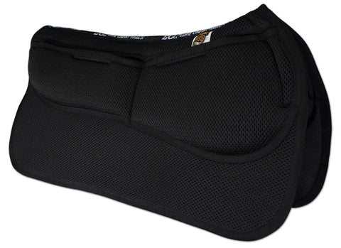 ECP 3D Mesh Western Correction Saddle Pad