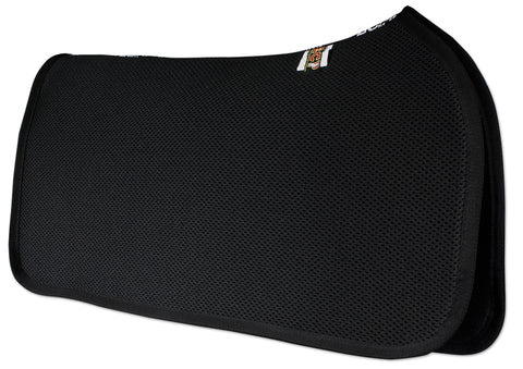 ECP 3D Mesh Western Saddle Pad - Black