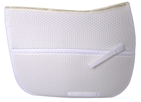 ECP Air Ride® White Dressage Saddle Pad