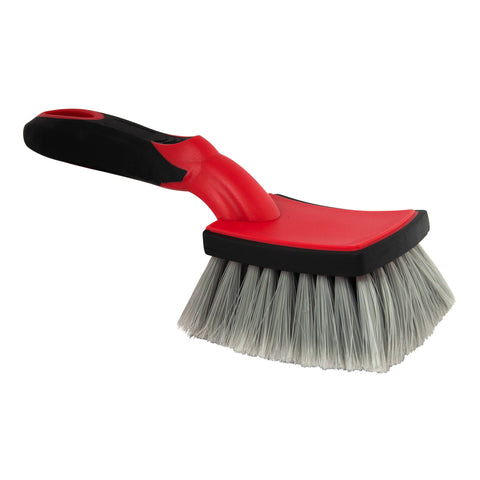 Barrett-Jackson Square Fender Brush with Soft Grip Handle
