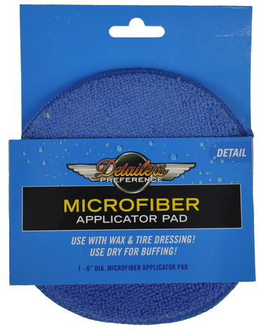 Eurow Microfiber Wax Polish Applicator Pad 6 inches