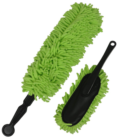 Detailer's Preference® Microfiber Knobby Car Duster Set – 2-piece Set