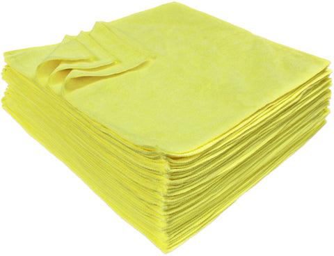 Detailer's Preference® Microfiber Premium 16x16 in 350 GSM Cleaning Towels 36-Pack
