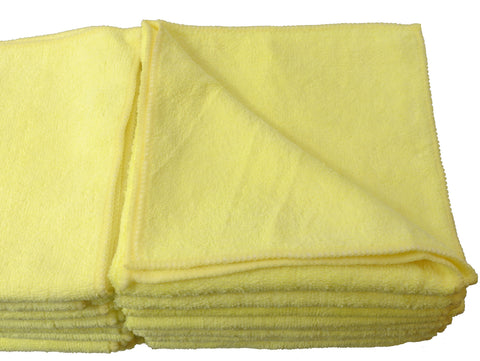 Detailer's Preference Microfiber DeLuxe 16X16in 325 GSM Cleaning Towels 24-Pack