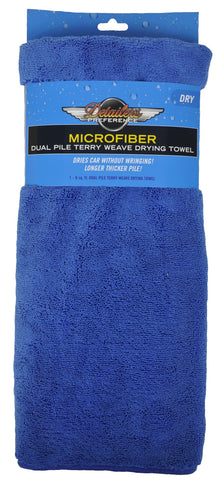 Detailer's Preference® Large Microfiber Dual Pile Terry Weave Drying Towel – 6 Sq. Feet