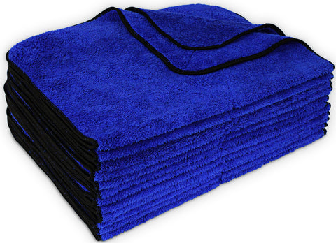 Detailers Preference® 450 GSM 16 X 24in. Ultra Soft Microfiber Towel 12 Pack