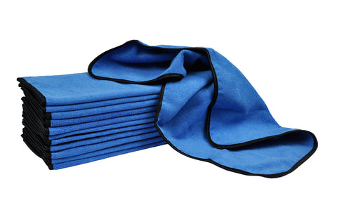"Detailers Preference® Terry Weave Microfiber Towels 16"" x 24"" 390gsm 12 Pack"