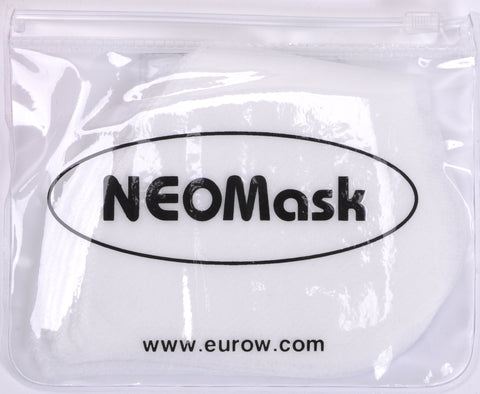 Replacement Filters for NeoMask Neoprene Carbon Mask (10-Pack)