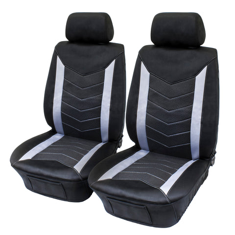 Eurow Vehicle Seat Covers Waterproof Wetsuit SCR Material 2 Pack