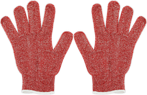 Nouvelle Legende® Cut Resistant Gloves - Red - 2 Gloves = 1 Pair