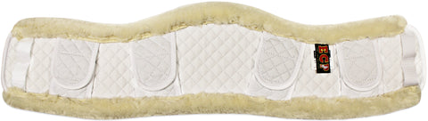 ECP Faux Shearling Contoured Girth Cover