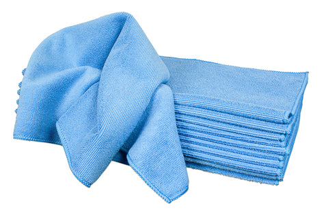 Detailer's Preference® 16 x 16 in. 350 GSM Microfiber Cleaning Towels – 12-pack