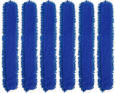 CleanAide® Chenille and Terry Weave Microfiber Duster Cover 6 Pack