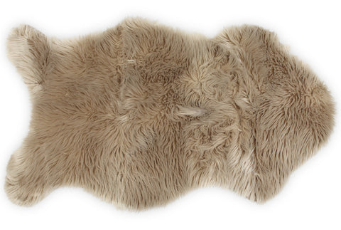 Nouvelle Legende® Faux Fur Sheepskin Premium Rug Single (23 in. X 40 in.)