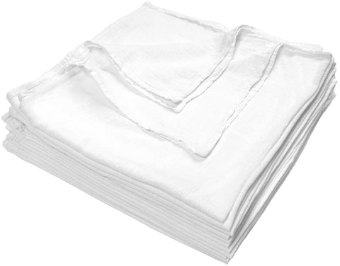 Nouvelle Legende® 28 x 29 in. Cotton Flour Sack Towels – 12-pack