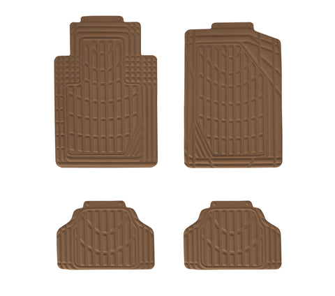 Eurow Universal Cut to Fit Car Floor Mats 4 Piece Set