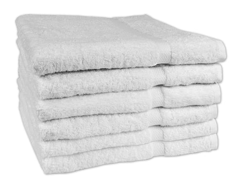 Texrise Premium Collection Laguna Series Luxury Bath Towels 27 x 50 inches 6 Pack
