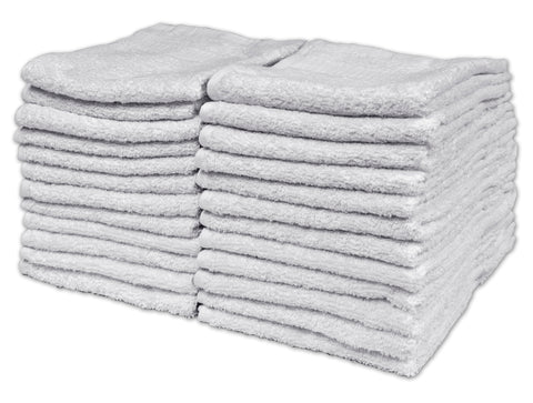 Texrise Premium Collection Laguna Series Luxury Wash Cloths 13 x 13 inches 24 Pack