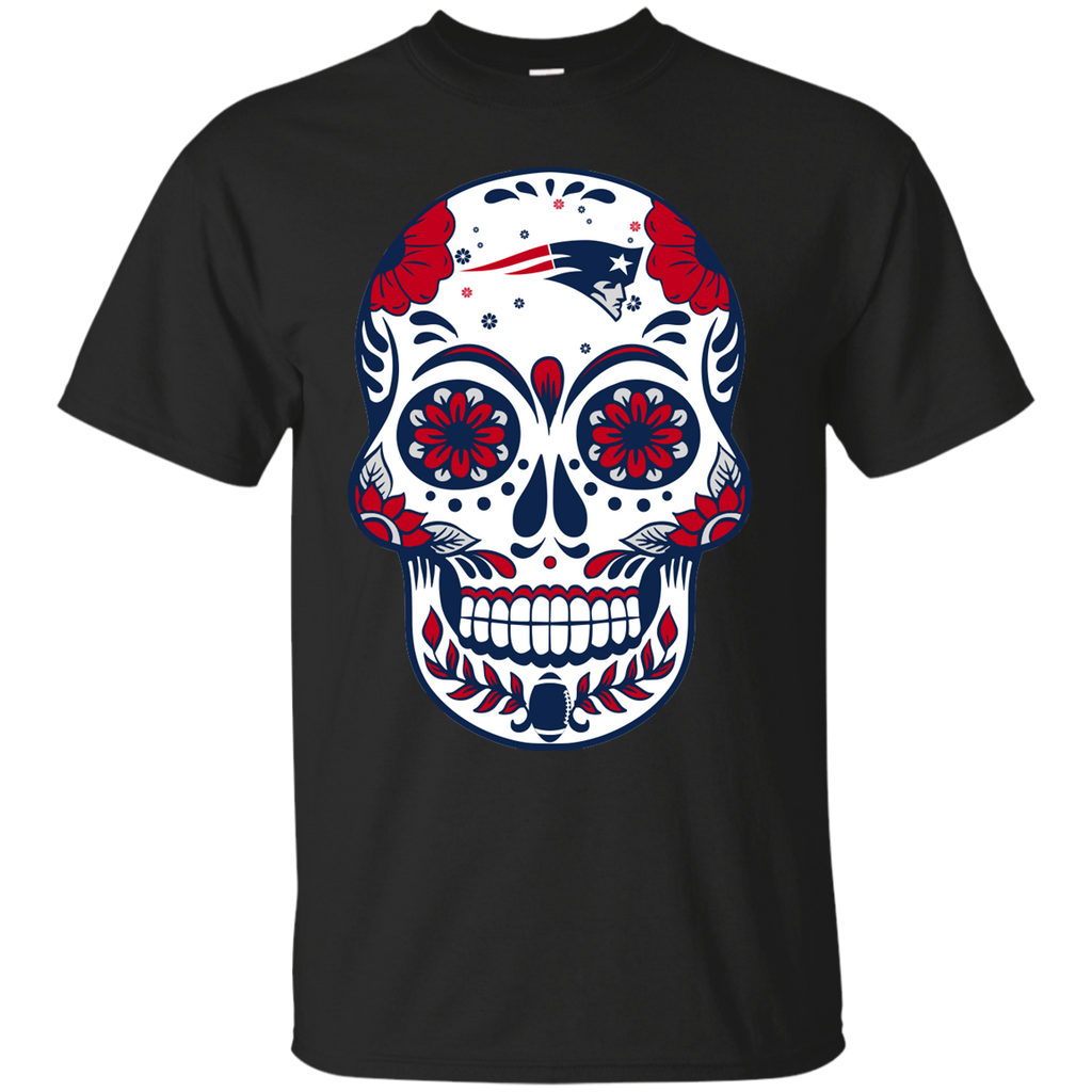 Sugar Skull - New England Patriots Fan