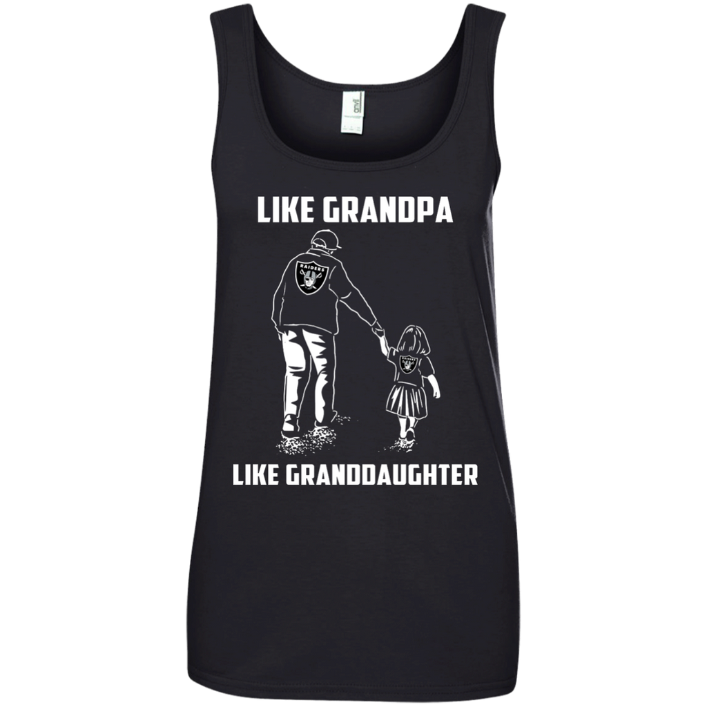 Like Grandpa Like Granddaughter - Oakland Raiders