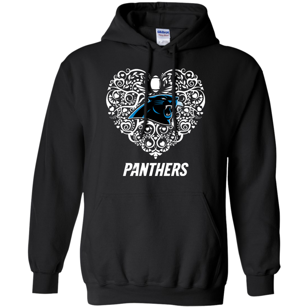 Heart - Carolina Panthers Fan