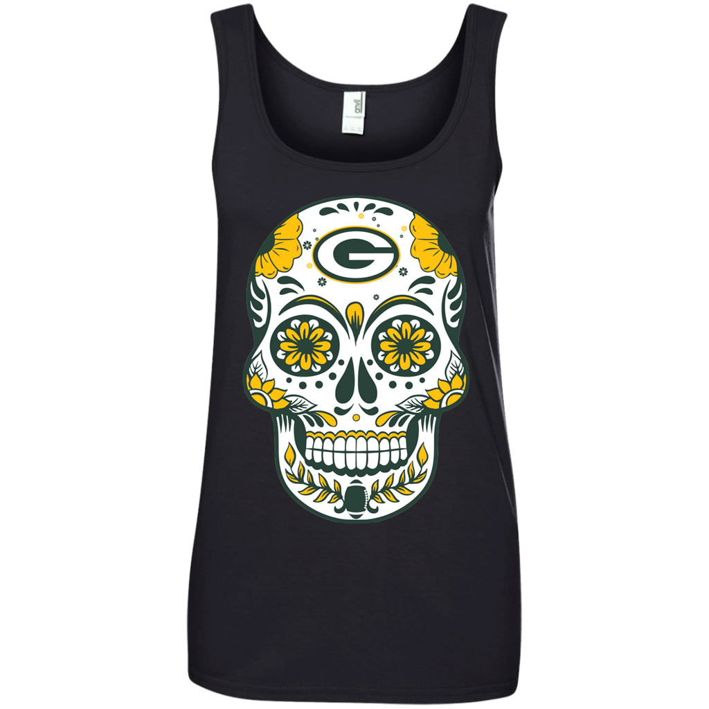 Sugar Skull - Green Bay Packers Fan