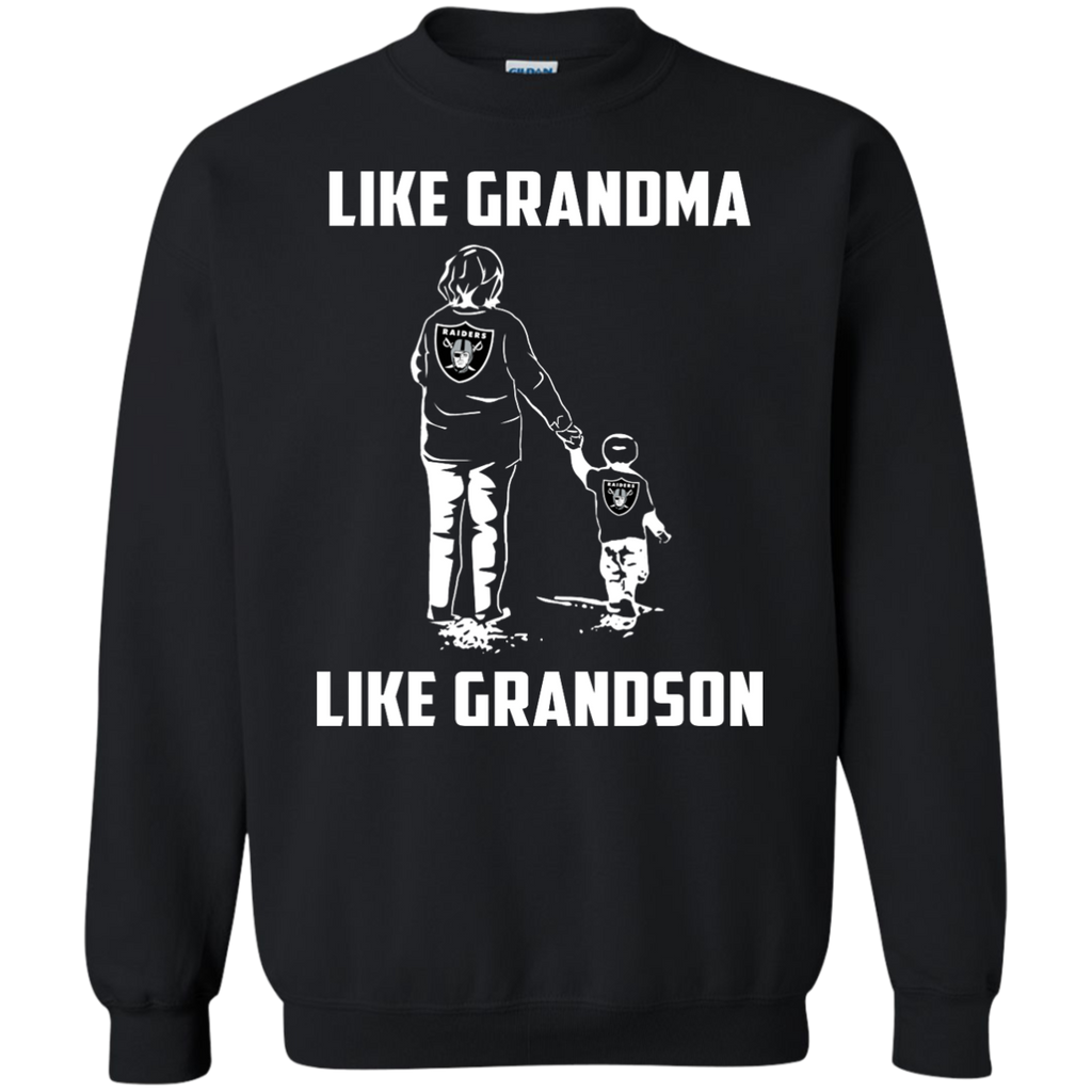 Like Grandma Like Grandson - Oakland Raiders