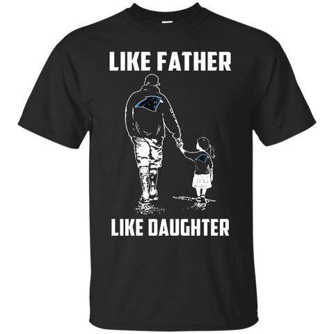 Like Father Like Daughter - Carolina Panthers