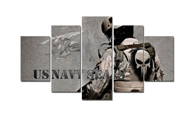 Poster - US Navy SEALs & Punisher
