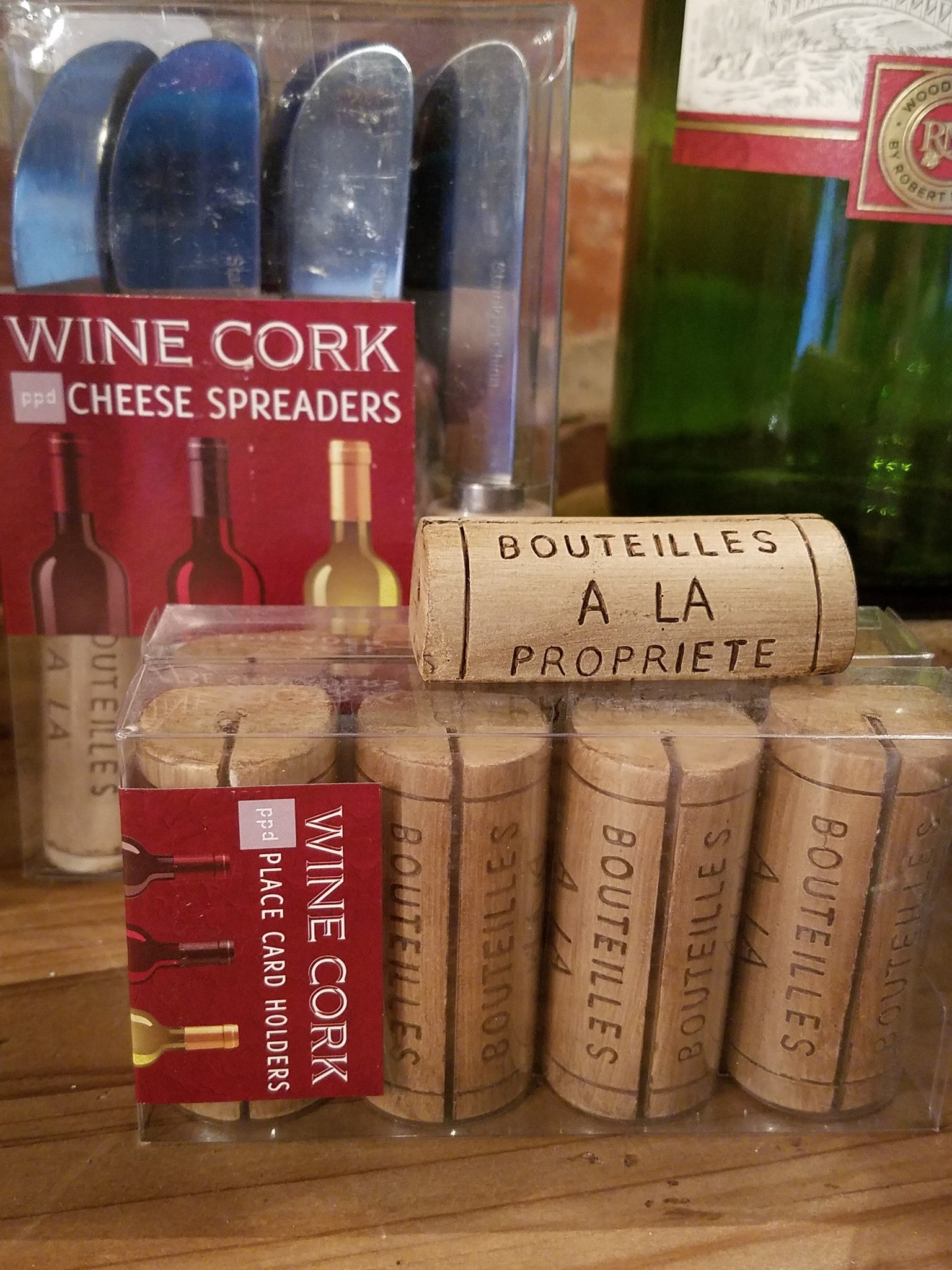 PPD Wine Cork Place Card Holders 25000