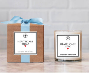 Healthcare Hero Candle