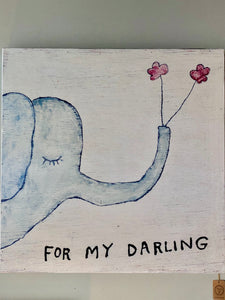 For My Darling Wooden Wall Art