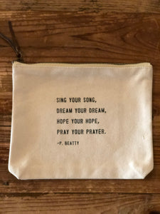 Sugarboo Canvas Bag (Multiple Quotes Available)