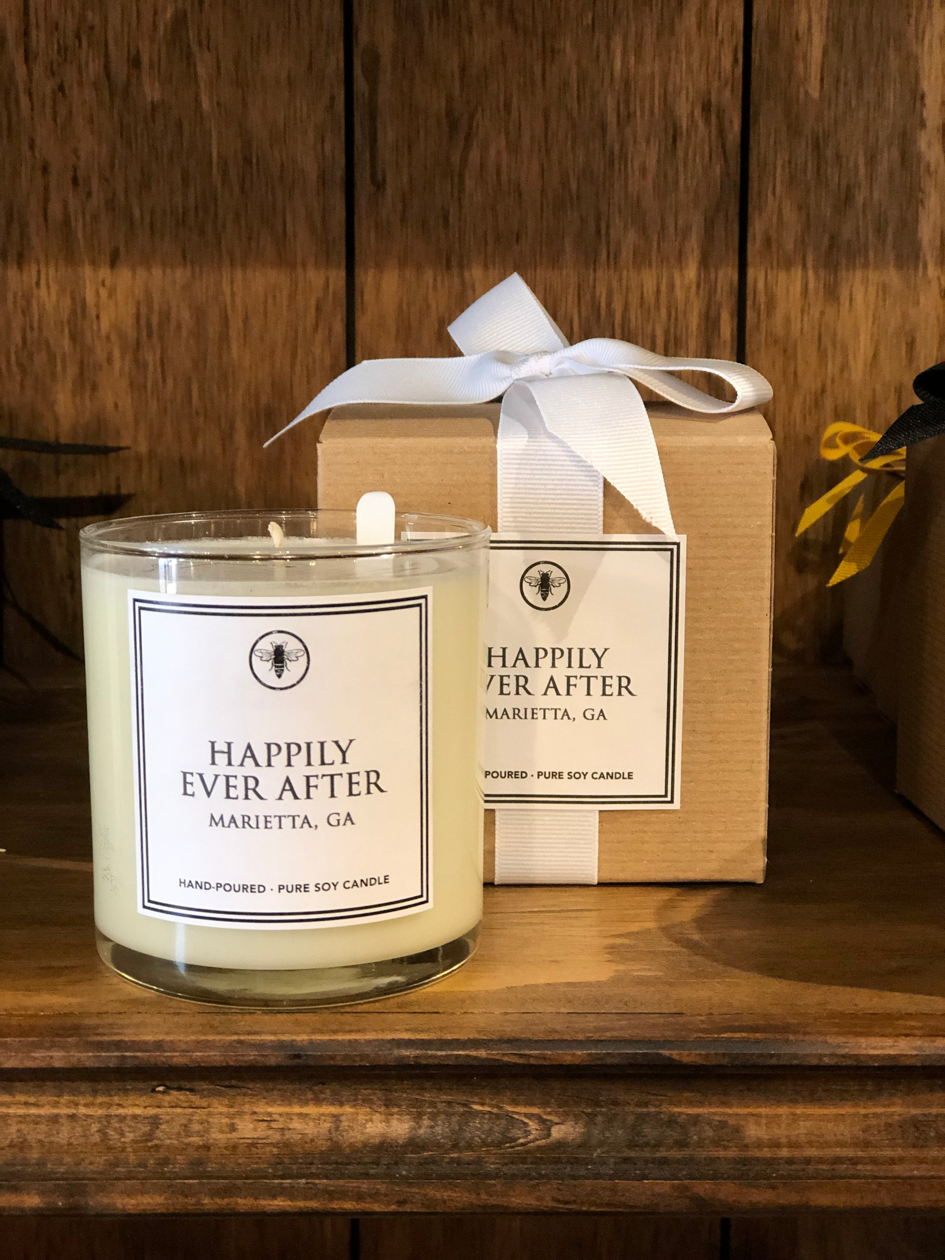 Happily Ever After in Marietta Georgia Candle