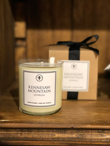 Kennesaw Mountain Boxed Candle