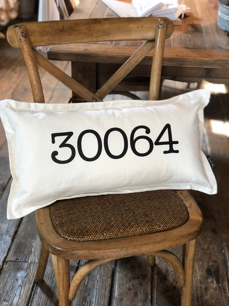 Zip Code 30064 Pillow
