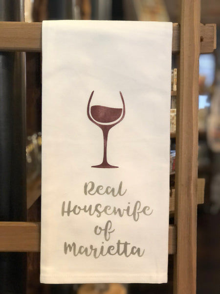 Real Housewife of Marietta Tea Towel