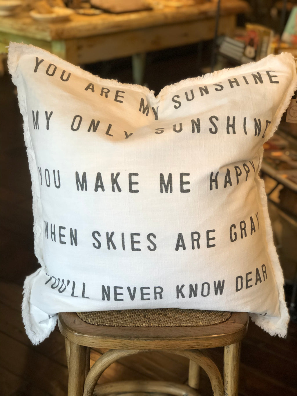 You Are My Sunshine Pillow
