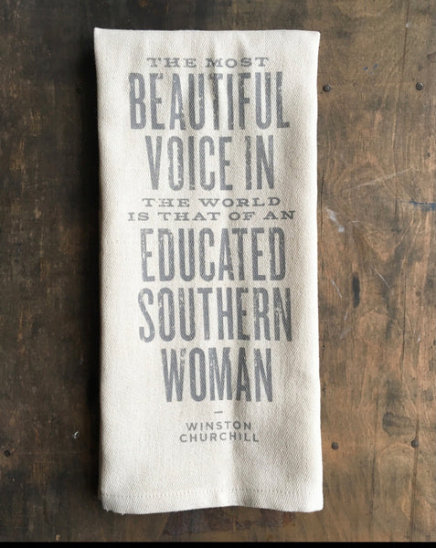 Beautiful Voice Kitchen Towel