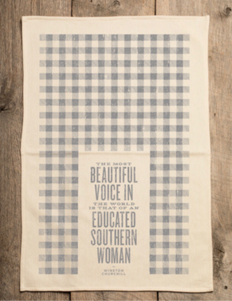 Beautiful Voice Tea Towel