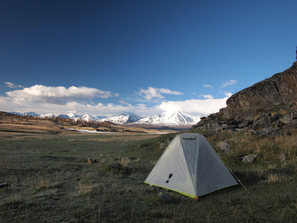 Camping in Altai, Mongolia