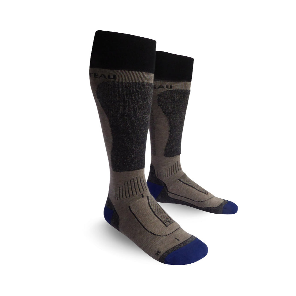 Pamir Ski Sock - Peak to Plateau - Yak Wool Outdoor Clothing