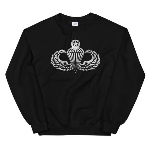 Master Jump WIngs Distressed Sweatshirt