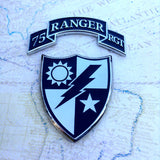 75th Ranger Rgmt Scroll