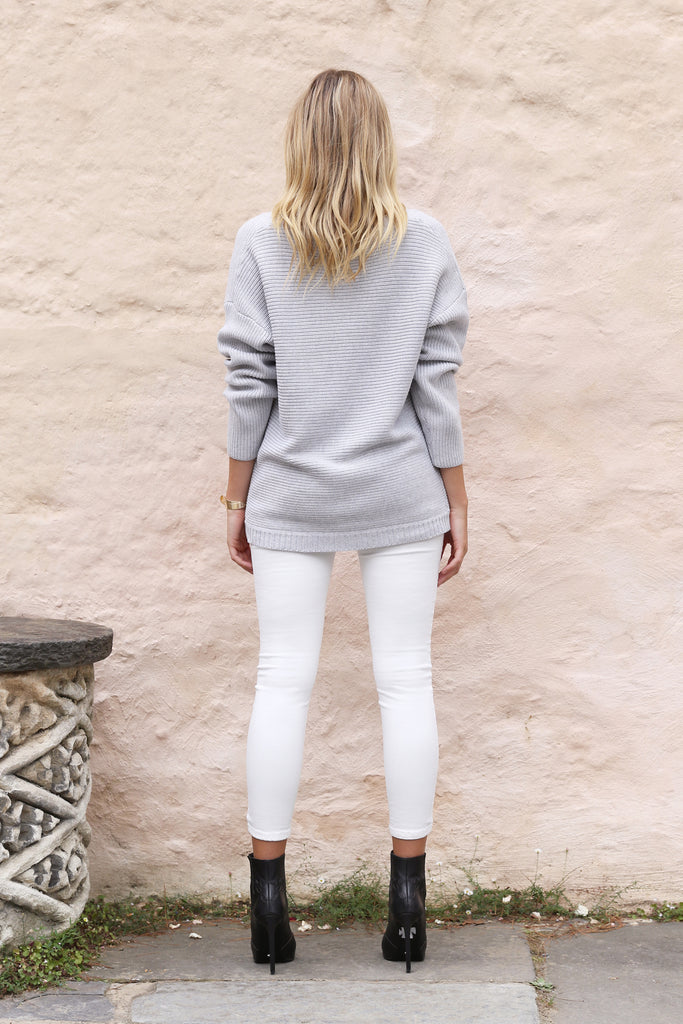 Cynthia Oversized Knit / Grey