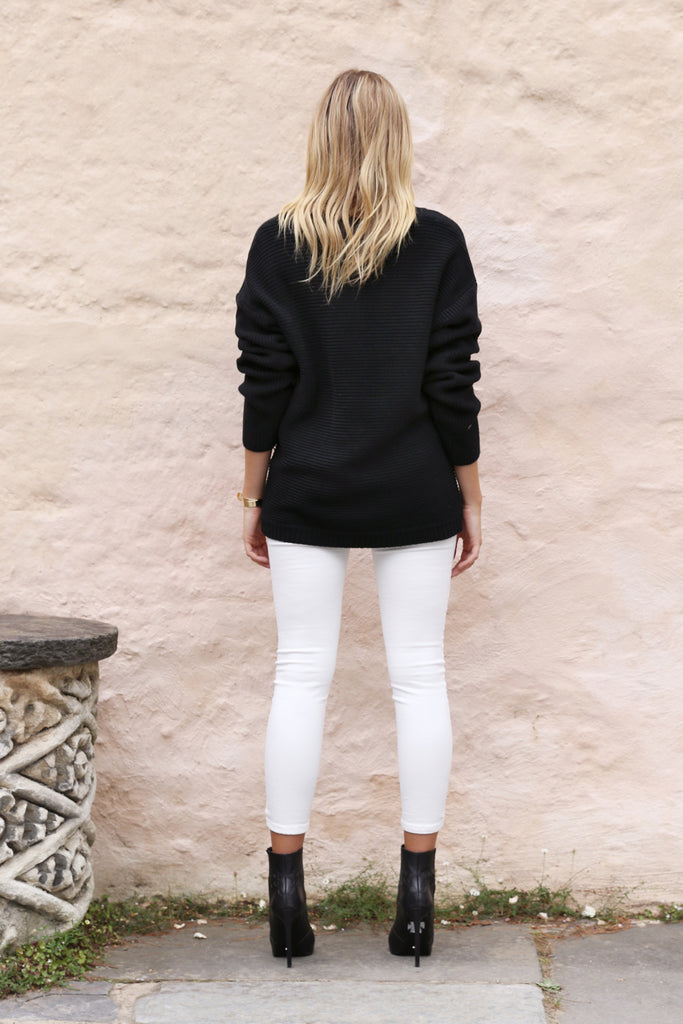 Cynthia Oversized Knit / Black