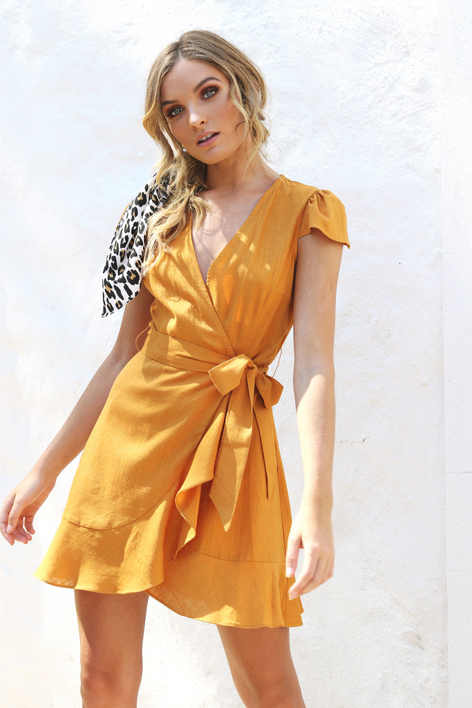Amelie Dress / Orange